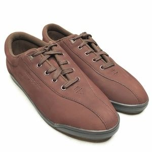 Easy Spirit AP1 Maroon Walking Shoes Sneaker